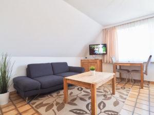 Apartment 7 Wohnbereich