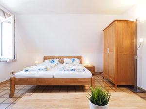 Apartment 7 Schlafbereich