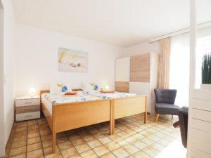 Apartment 3 Schlafbereich